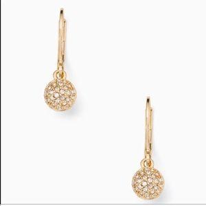 New Kate Spade Drop Earrings in Gold!